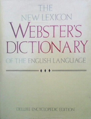 The new lexicon webster`s dictionary - --------------