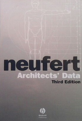 Architects` data - Peter Neufert